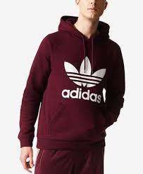 adidas hoodie mens. adidas originals men\u0027s fleece trefoil hoodie mens n