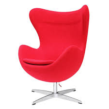 arne jacobsen egg chair replica. Amazon.com: Designer Modern Arne Jacobsen Egg Chair - Red 100% Wool: Kitchen \u0026 Dining Replica