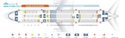 Klm Plane Seating Chart Klm Fleet Boeing 777 200er Details And Pictures