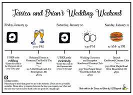 Wedding Timeline Classy Weekend Timeline EventWedding Timeline Etsy