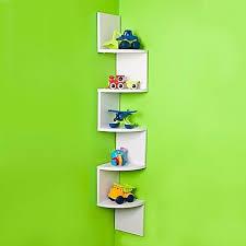 diy floating shelves zig zag five