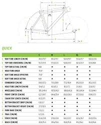 Cannondale Mountain Bike Frame Size Chart Quick 5 Disc Cannondale Bikes Creating The Perfect Ride