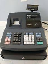 sharp xe a206. sharp xea206 electronic cash register xe-a206 thermal xe a206