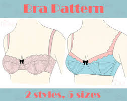 Bra Patterns Amazing Bra PATTERN With Sewing TUTORIAL AA A B C D E Cup Multi Size Step