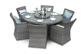 grey rattan dining table. richmond 6 seater rattan dining set - round natural grey table g