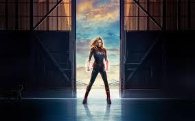 Brie Larson In Captain Marvel Movie 4k ...