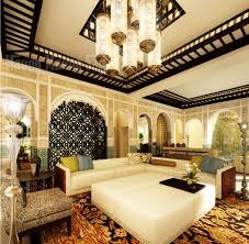 Moroccan Decoration Interiors Design Furniture Moroccan Home Interior Design With Unique Room Divider 2