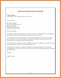 Follow Up Letter Template After Interview Beautiful Follow Up Email