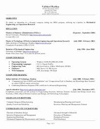 Sample Academic Resume For College Application Fresh Mission