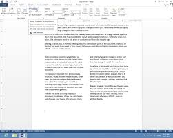 How To Write In Multiple Columns In Microsoft Word 2013 Youtube