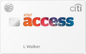 at t access card from citi review