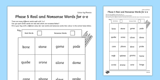 Take a look at this split digraph powerpoint, a great addition to your lesson. Phase 5 O E Split Digraph Color By Phoneme Real And Nonsense Words Silent