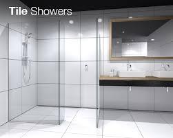 shower collection tile shower range