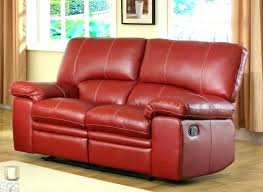 red recliner reclining leather loveseat large size of sectional sofa with recliners and