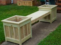 planter bench plans patio with planters beautiful at wooden outdoor planter bench outdoor planter bench