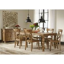 extendable dining room table by signature design by ashley. signature design by ashley trishley brown dining room table extendable e