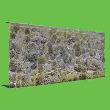 moss stone wall 3d model turbosquid