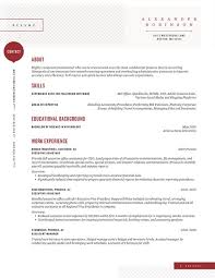 Resume Accents Twnctry Simple Resume With Accent