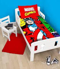marvel comics clash design duvet pillowcase bedding set polycotton