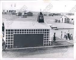 1954 Badanah Saudi Arabia Remote American Red Schoolhouse Built Press Photo    eBay