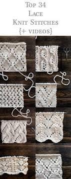 Knit Stitch Patterns Cool 48 Best Knit Stitch Patterns Vintage Images On Pinterest