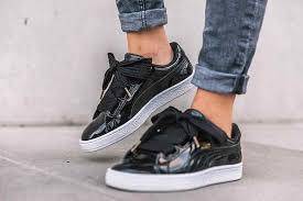 puma basket heart black 2