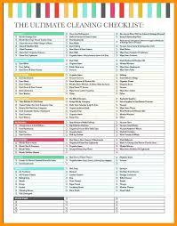Professional Schedule Template Housekeeping Schedule Template Interestor Co