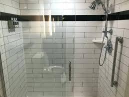 large subway tile marble