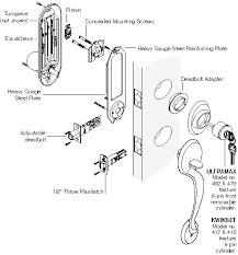 kwikset door lock parts. Documents Kwikset Door Lock Parts A