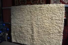 off white flokati style rug ex ikea 170 x 240cm flokati rug ikea