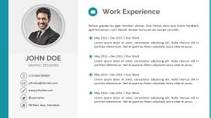 Stunning Powerpoint Resume Sample Images Simple Resume Office