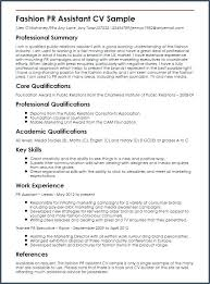 public relations sample resume public relations skills resume fashion pr assistant sample resume
