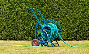 best hose reel cart with wheels for