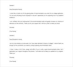 Thank You Letter For Job Reference 8 Thank You Letter For Recommendation Pdf Doc Free Premium