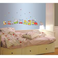 Baby Nursery. Cute Kids Bedroom Designing Ideas With Lovely Train ...