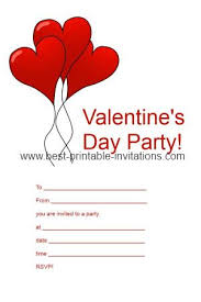valentines party invitations printable valentine party invitations