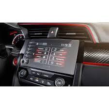 <b>2 PCS</b> with 4 Holes <b>Screen</b> Protector for 2019 Honda Civic LX EX ...