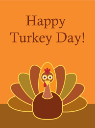 Classic Happy Thanksgiving Card Birthday Greeting Cards By Davia