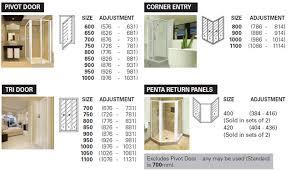 aluminium shower doors