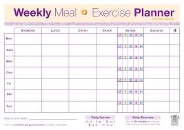 024 Blank Weekly Menu Template Free Meal Planner Download