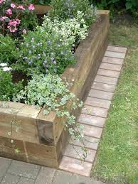 brick landscaping border raised beds garden edging ideas landscape brick edging photos