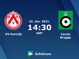 KV Kortrijk Cercle Brugge Live Ticker und Live Stream - SofaScore