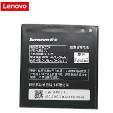 For Lenovo A516 Battery 2000mAh BL209 ...