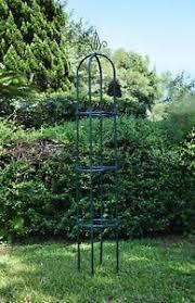 garden obelisk trellis. Yarti Garden Trellis Obelisk Metal With Sturdy Anti-rust Plastic Kit