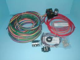 rebel wire watson s streetworks rebel wire 6 volt universal wire harness