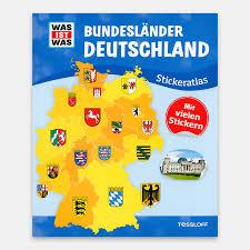 We did not find results for: Was Ist Was Stickeratlas Bundeslander Deutschland Tessloff Verlag 978 3 7886 2156 8 Echtkind