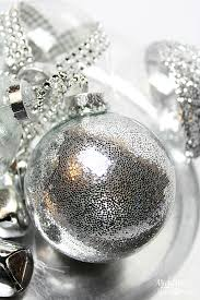 Decorating Clear Christmas Balls Classy DIY Ideas To Decorate Clear Ornaments Creative Juice