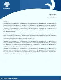 Create A Letterhead Free Create Letterhead In Excel Letter Idea Make Template Word Ms