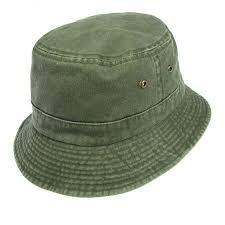 Village Hat Shop VHS Cotton Bucket Hat - Olive