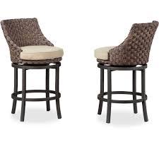davenport chair wicker 2 pack